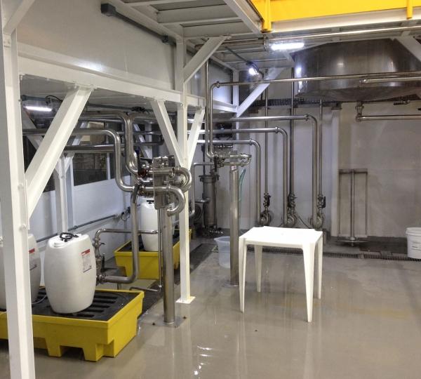 Montagem de Tubulação de Inox OD com Solda Sanitária