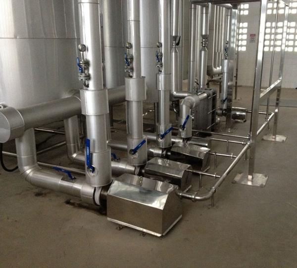 Tubulação de inox para Cervejarias