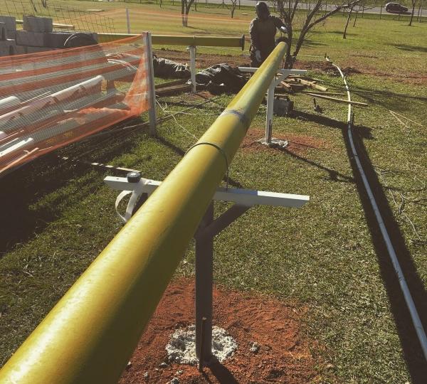 Tubulação de Gás Industrial em Campinas