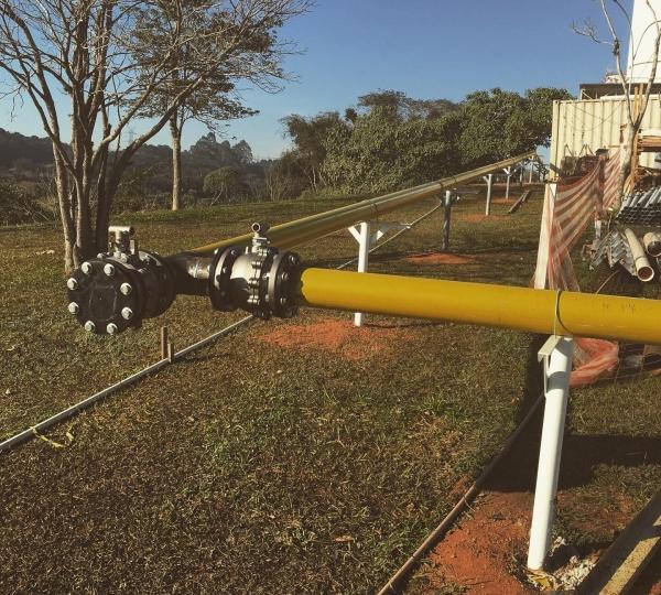 Tubulação de Gás Industrial em Presidente Prudente