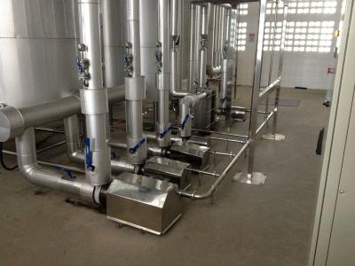 Montagem de tubulação de gás em Bauru