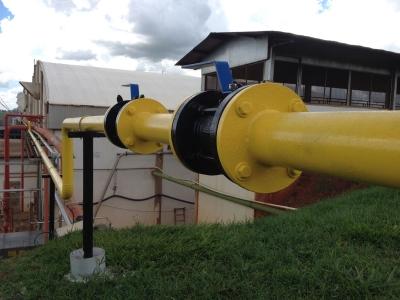 Tubulação de Gás Industrial em Brasília
